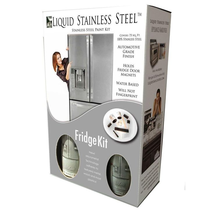 qt. Stainless Steel Appliance Paint Kit-FG-FKIT / 75 SQ FT at The ...