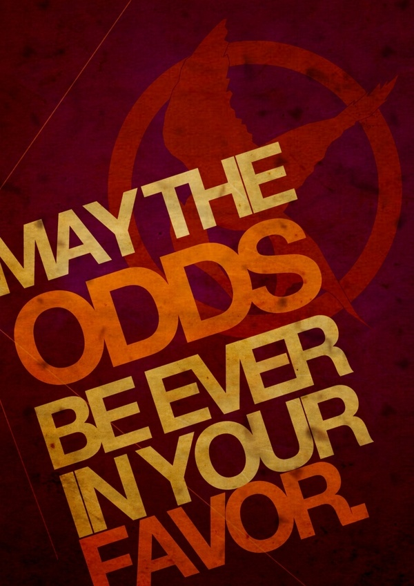 playing with the odds hunger games