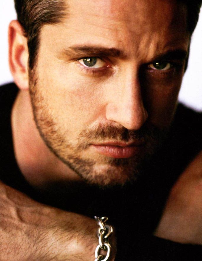 Gerard Butler    Man whore, but with the right antibiotics......