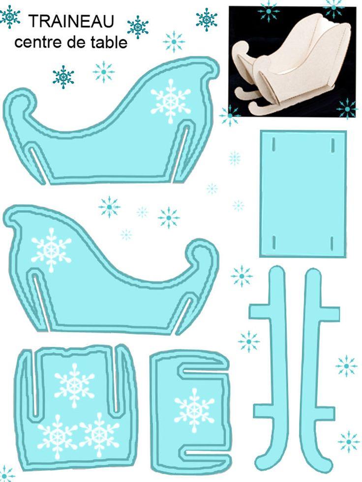 Как сделать санки для деда мороза своими