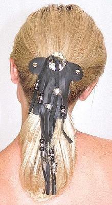 LADIES   BEADED  HAIR WRAP