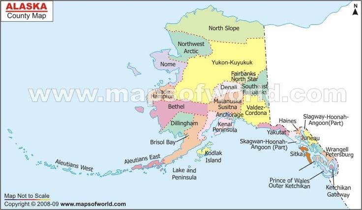 Alaskacountymapjpg 800466  Shipping Company Logo