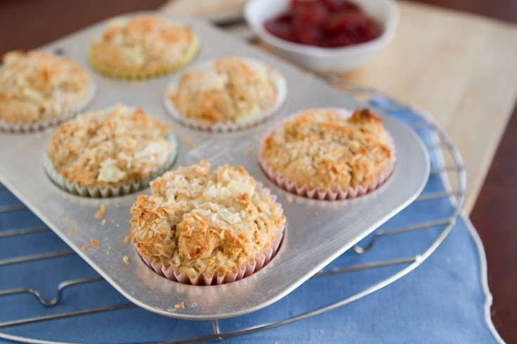 Healthy] Coconut Pineapple Muffins | Cupcakes & Muffins to Try | Pin ...