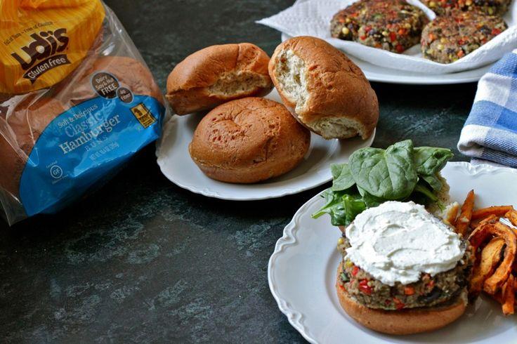 GLUTEN FREE BREAD ROLLS - Quinoa Veggie Burgers with Whipped Feta ...