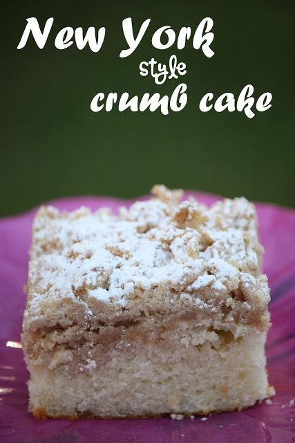 New York Style Crumb Cake | Cake cafe | Pinterest