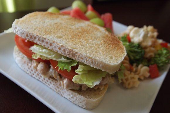Savory mock tuna salad   *Vegetarian/Vegan *   Pinterest
