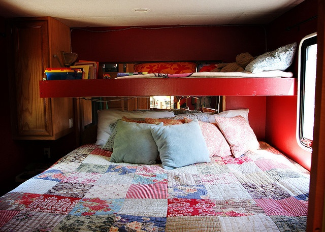 Rv Bed And Loft Rv Pinterest