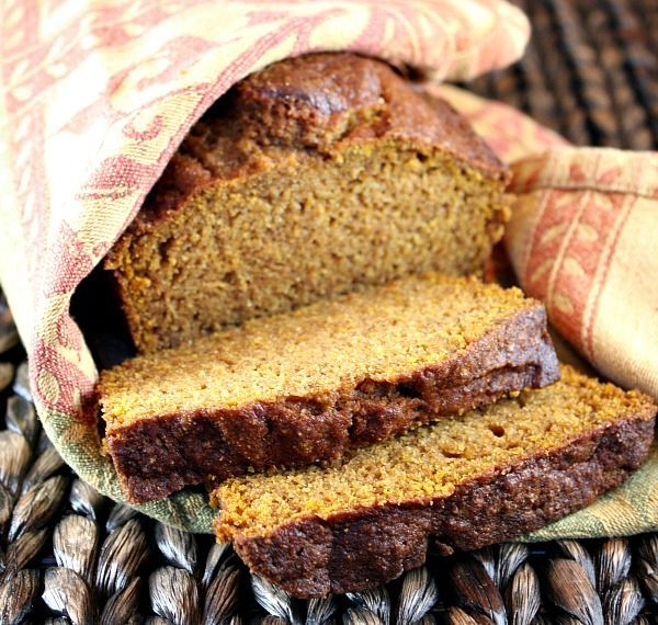 Whole Wheat-Olive Oil Pumpkin Bread. | Pumpkin | Pinterest