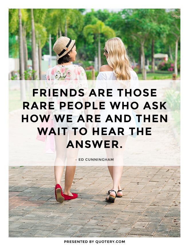 Friendship quote.