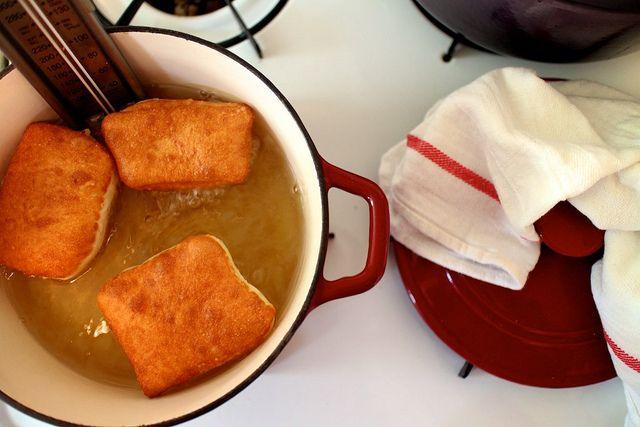 Buttermilk Beignets - whole milk - active dry yeast - sugar - bread ...