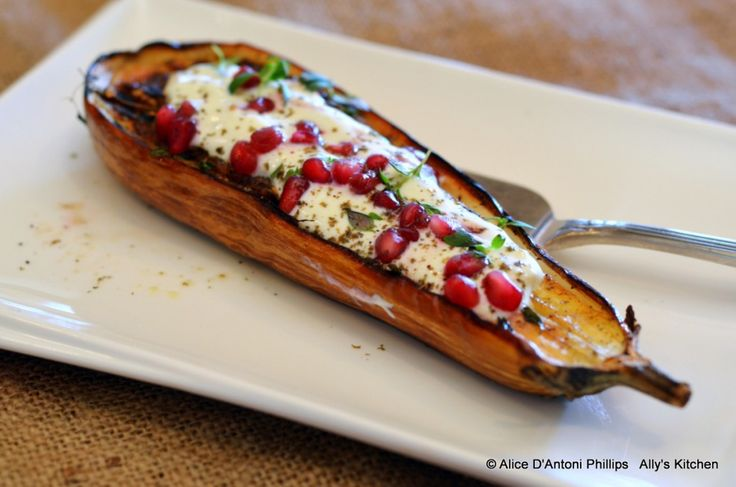 eggplant with buttermilk sauce #eggplant #recipe #food