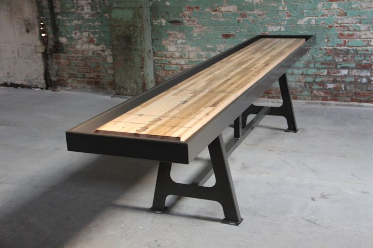 Shuffle Board table : Game Room : Pinterest