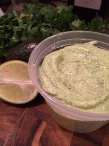 Spicy Avocado Ranch Dip | recipiesss | Pinterest