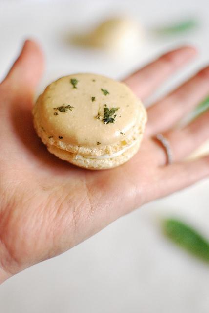 Lemon Verbena Macarons | Recipes - Macarons | Pinterest