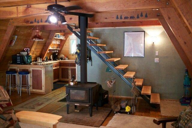 Frame Cabin Interior A Frame Interior