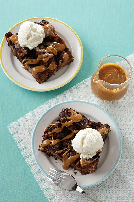... Day recipes: Double Chocolate Bread Pudding with Dulce de Leche