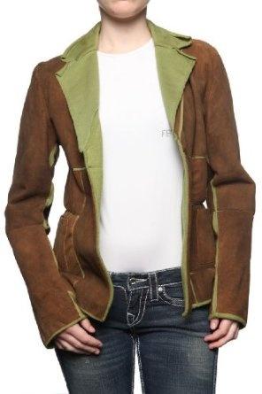 Antique Leather Jacket ALBA $218.30 | Jackets | Pinterest