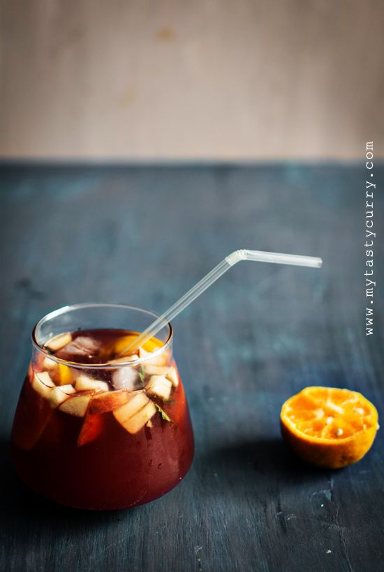 Non Alcoholic Sangria | Food Is My Addiction | Inspirations | Pintere ...