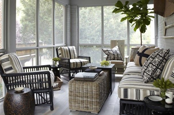 The timelessness of screened porches for Screen porch furniture ideas