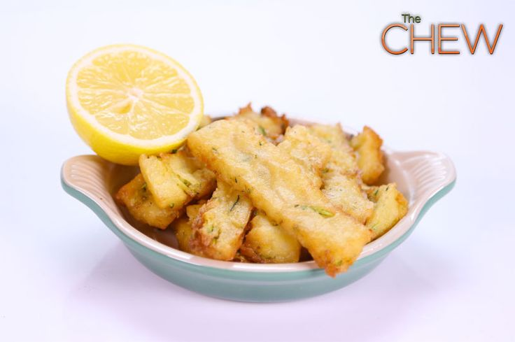 Mario Batali's Chickpea Fries #thechew | Fried to Perfection | Pinter ...