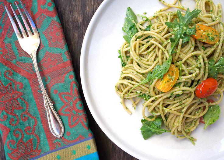 Arugula Pesto Wheat Berries Recipes — Dishmaps