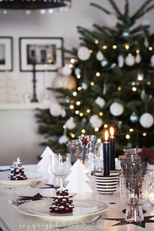 décoration sapin de Noël blanc
