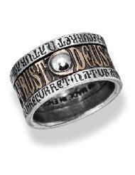 Alga Alchemy Gothic Pewter Talisman Ring