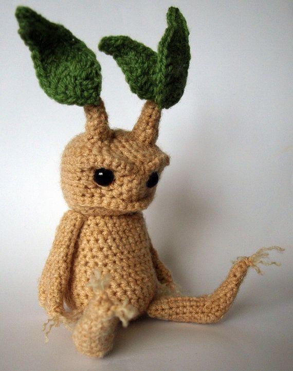 Amigurumi Mandrake : Mandrake - Amigurumi Crochet Pattern