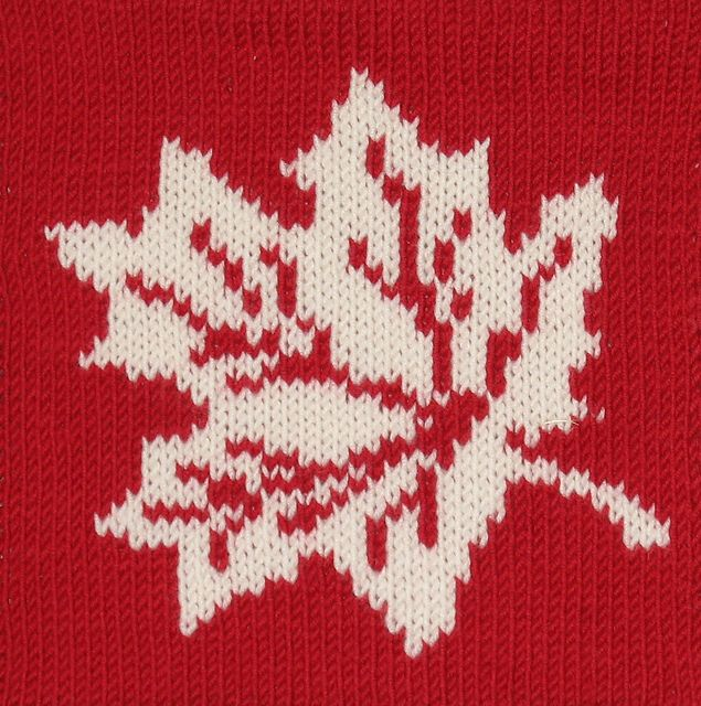 Knit Maple Leaf Pattern Free : Maple leaf Knitting patterns, charts, inspiration for knitting and