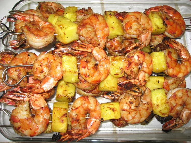 Yummy, Easy Pineapple Skewered Shrimp Recipes — Dishmaps