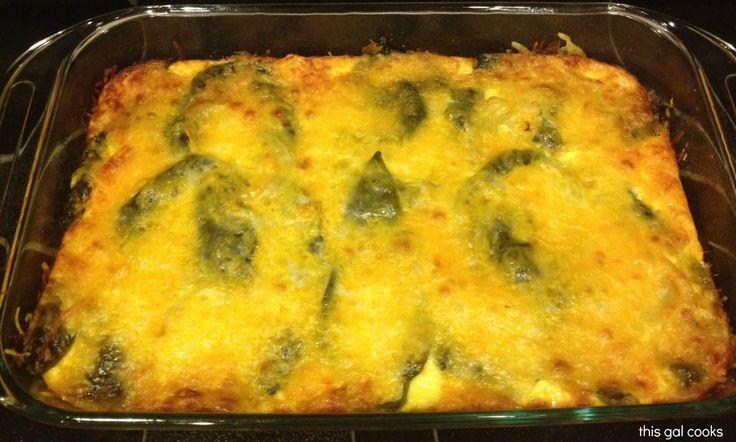 Chili Relleno Casserole! delicious!!! (sb) approx. 6 servings @ 300 ...
