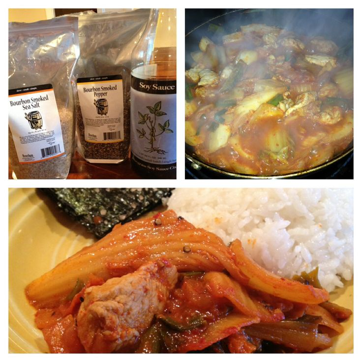 Find this recipe for Bluegrass Soy Sauce Kimchi Pork at www ...