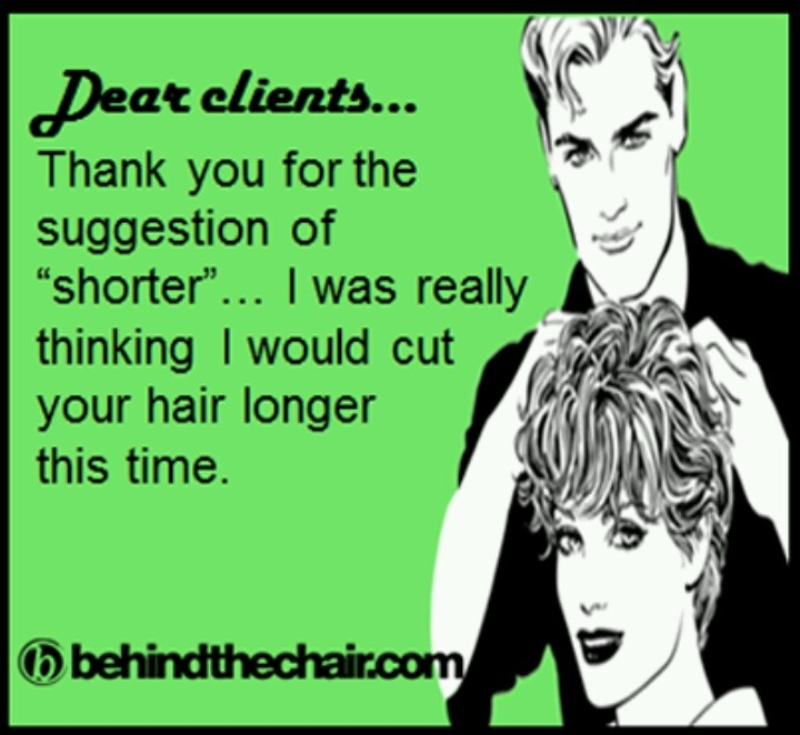 Funny hair salon quotes quotesgram for Salon quotes