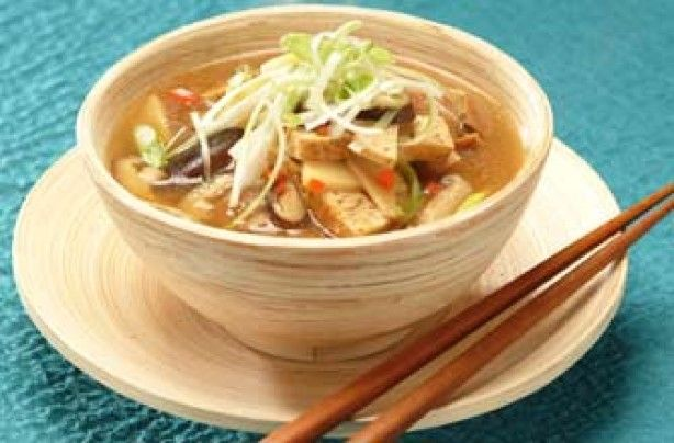 Vegetarian hot and sour soup - 30 healthy homemade soups