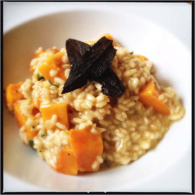 ... from @Abel Tan & Cole : Butternut Squash and Sage Risotto #fodder