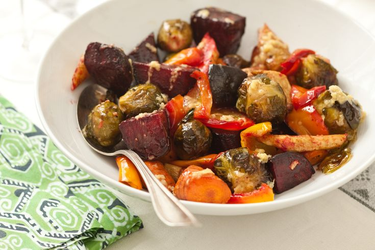 Roasted Vegetables with Miso Sauce - Read More at Relish.com ~ An ...