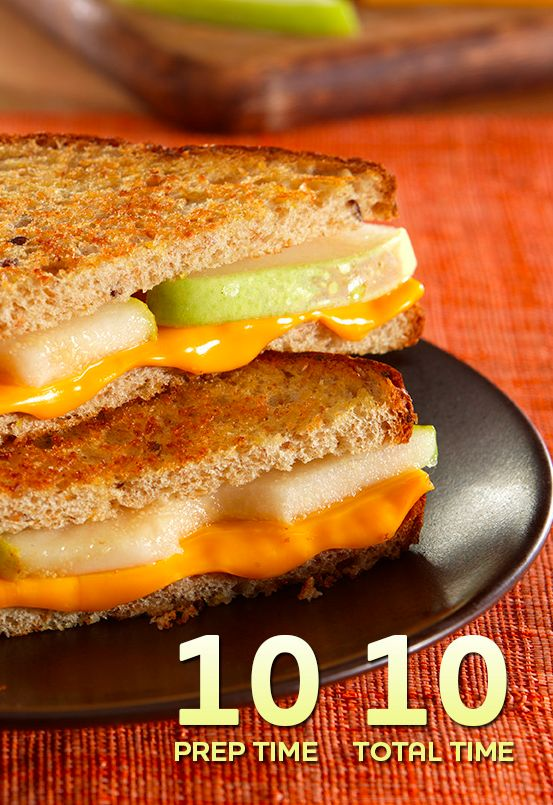 Grilled Cheese and Pear Sandwiches....this is a great lunch or dinner ...