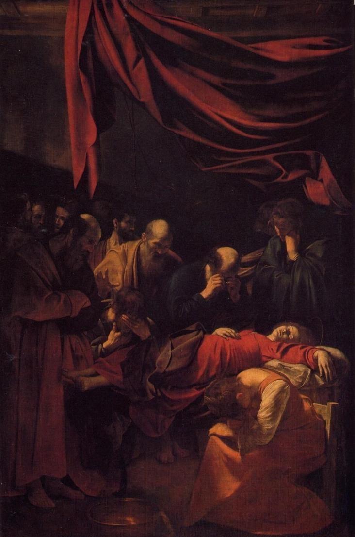 las pinturas más famosas: la muerte de la virgen