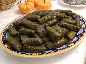 Dolma - Stuffed Grape Leaves | Persian Food Recipes | Pinterest