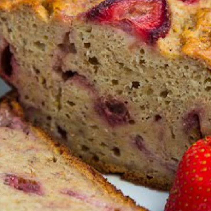 ... wheat flour. Nummy! ~Kenz Strawberry Greek Yogurt Banana Bread Recipe