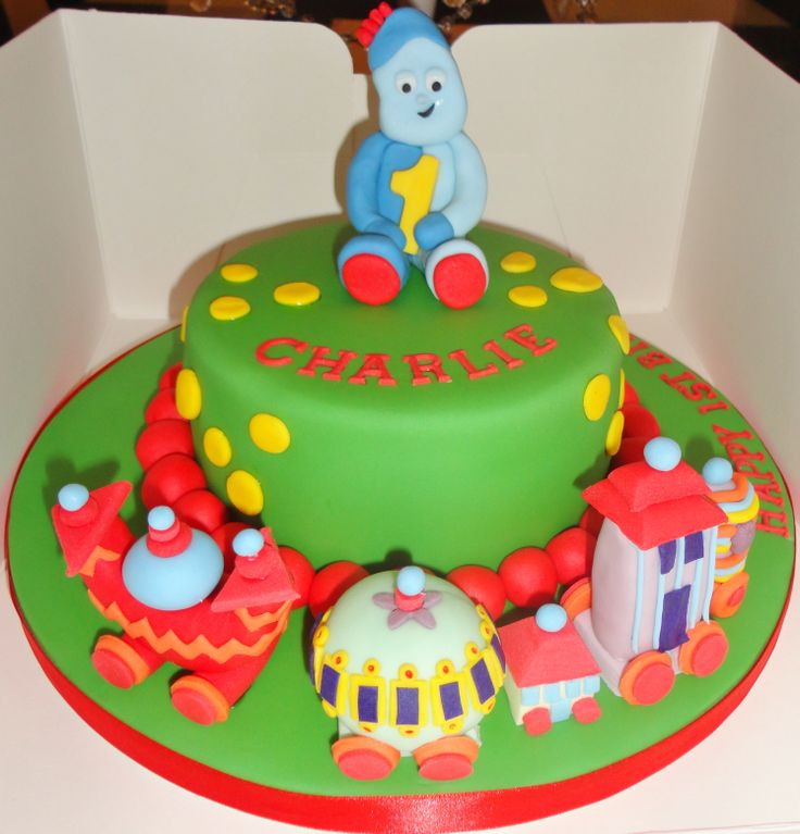 In the night garden cake oliver 39 s 2nd birthday pinterest for In the night garden cakes designs
