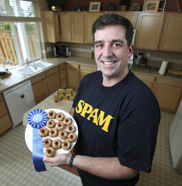 ... Jason Munson Click image for recipe for Mini Maple SPAM® Doughnuts