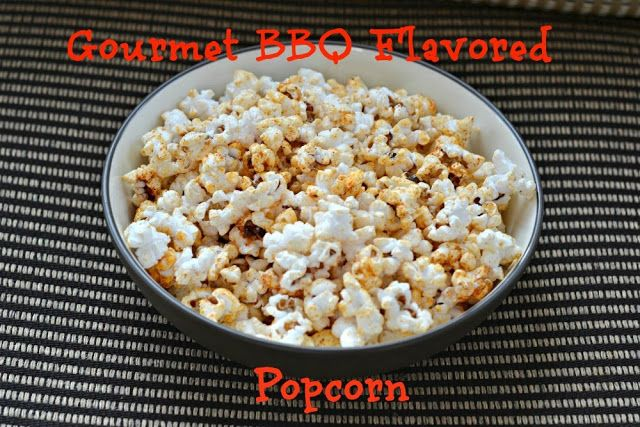 Easy Gourmet BBQ Flavored Popcorn! | Amazing Appetizers! | Pinterest