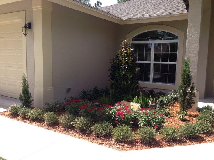 front entry design landscape designs pinterest