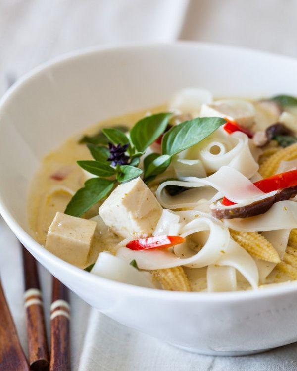 Vegetable Thai Curry Noodle Soup | __ Food | Pinterest