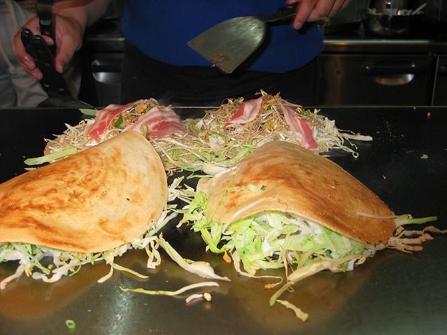 Okonomiyaki Hiroshima style | JAPÓN/JAPAN | Pinterest
