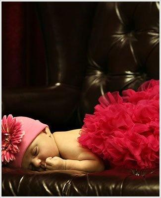 Ally Girl Newborn Pettiskirt *RASPBERRY* GREAT GIFT!