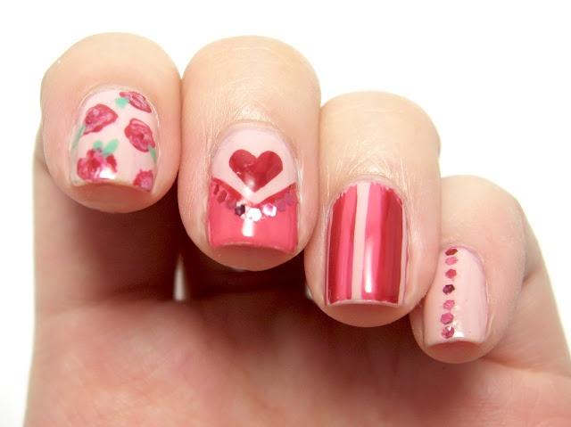 valentines nail art designs pinterest