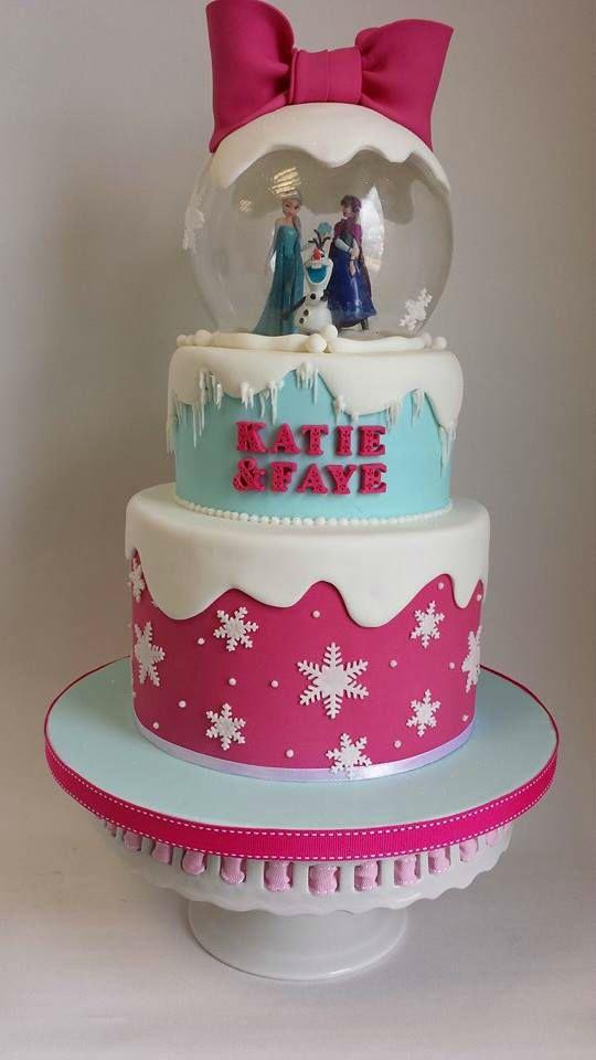 Frozen Purple And Blue Birthday Cake Ideas 71763 Frozen Sn