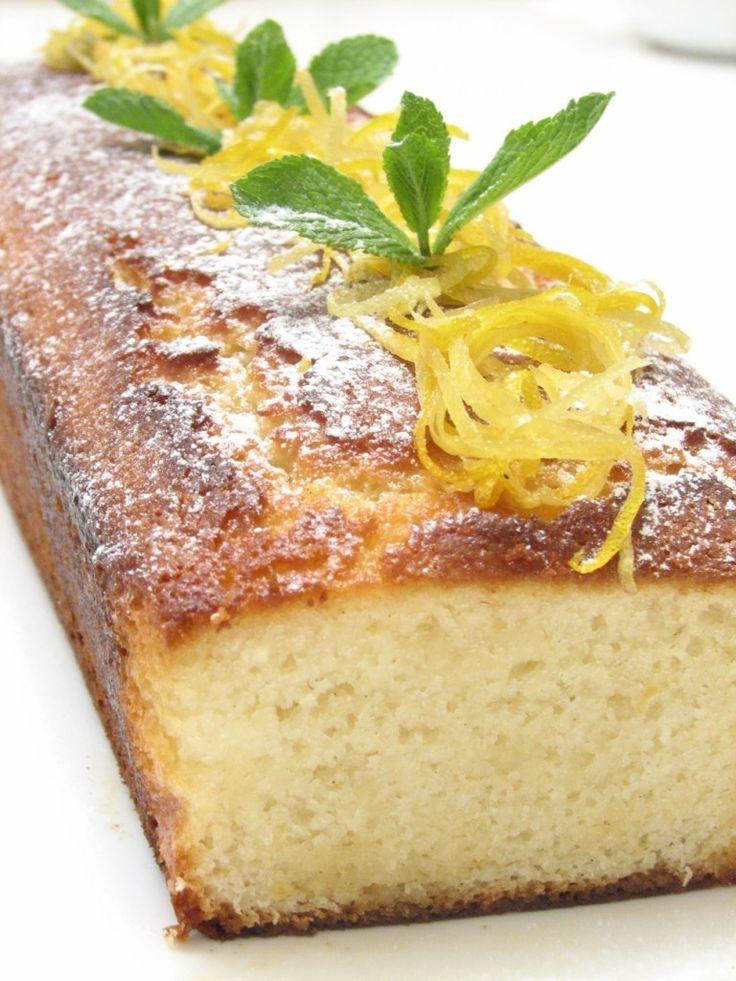 lemon-almond cake | Sweet Treats | Pinterest